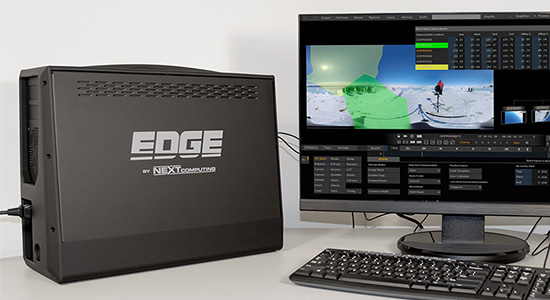 Edge with ASSIMILATE SCRATCH VR SUITE